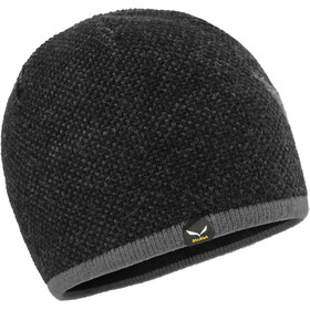 SALEWA Ortles Bonnet en laine, black out